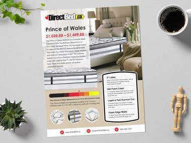 DirectBed Sell Sheet / Marketing Sheet