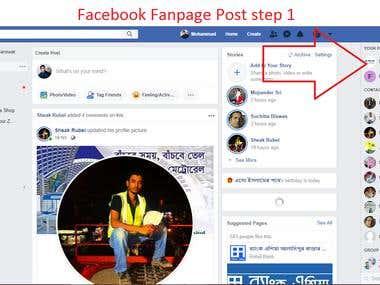 Facebook Posting,Link building, Advertisement