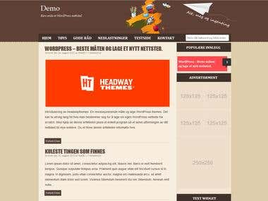 Other Project Wordpress Website