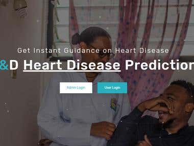 Heart Disease Prediction Software Using Machine Learning