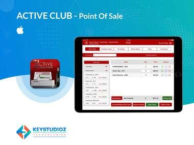 Active Club Point Of Sale