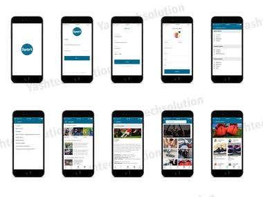 Sport app