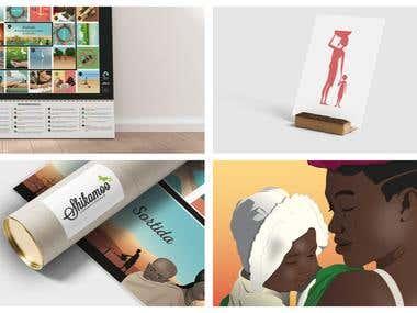 """""""El joc just"""" Ilustración y diseño"""