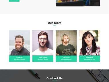 HTML Template Design & Development