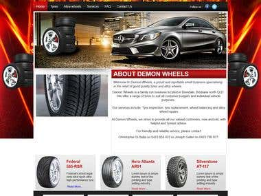 DEMONWHEELS COMPANY WEBSITE