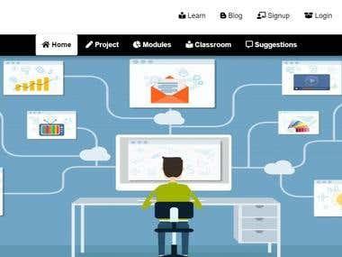 Electronic website