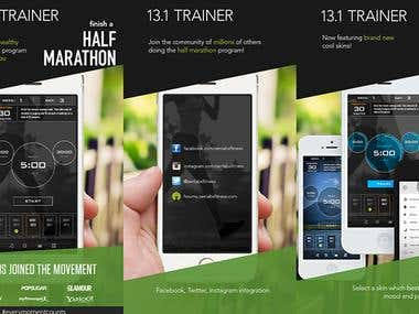 The Official Half Marathon Trainer App