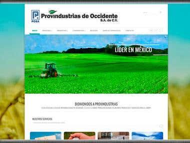 Provindustrias Sitio Web