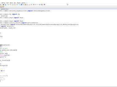 Python Web scriping