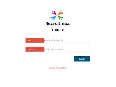 Recruit-Eaz- Recruitment Management System