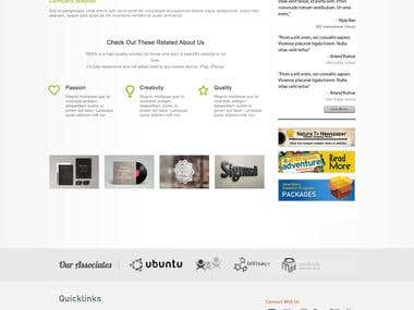 UI/UX Design - School(Nature) Website