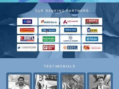 Ui/Ux Design - Loan website