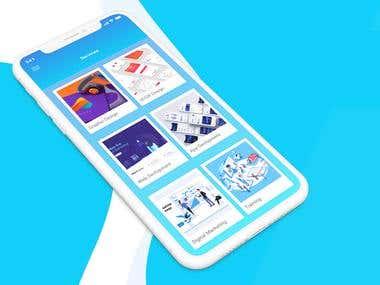 Company App Concept Design