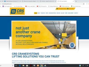 Crane systems inc