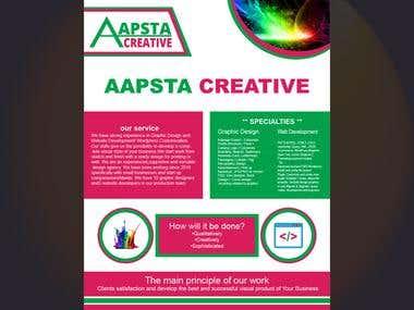AAPSTA CREATIVE FLYER