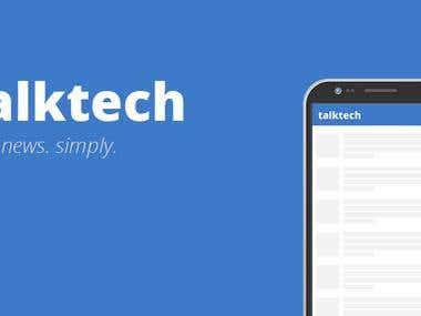 TalkTech - React Native News App