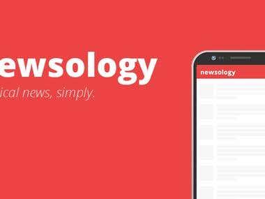 Newsology - React Native App