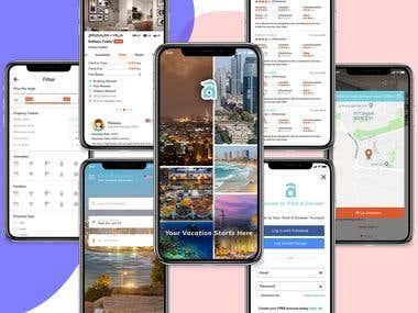 find a zimmer banner Mobile Application