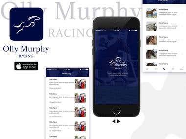 Olly murphy racing Iphone App