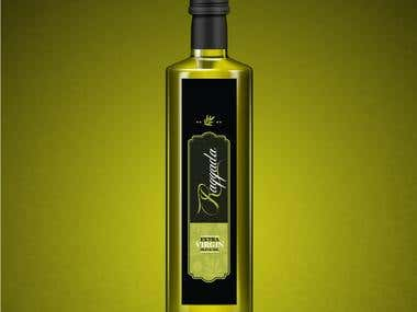 Olive Oil Labels Design