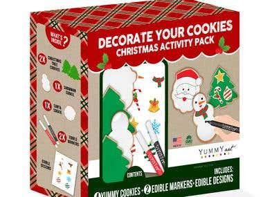 Yummy Art Cookie Kits