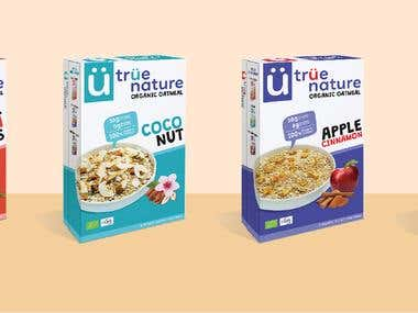 True Nature Oatmeal Box