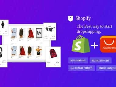 Shopify Drop shipping Store