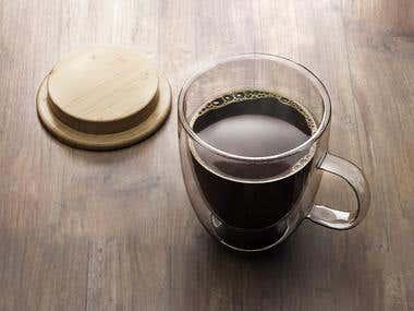 coffee mug 3d modeling