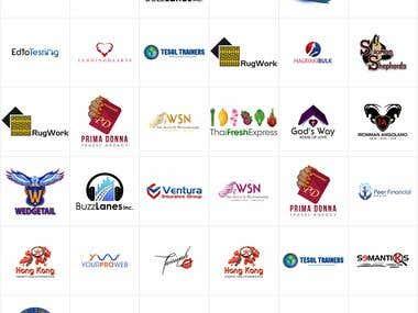 Logo design portfolio.