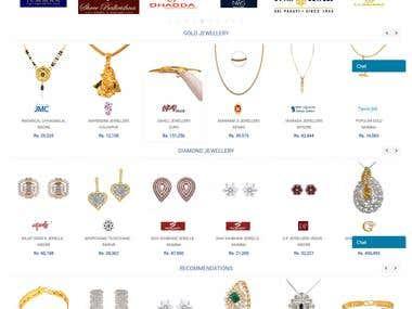 Online Jewellery Shopping Marketplace