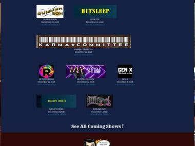 Concert Booking Website