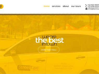 Taxi booking website...http://belitung.taxi