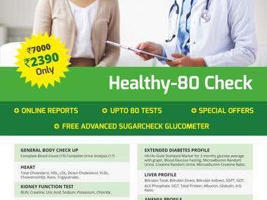 Flyer - Medical information (free check-up)