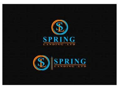 Springlanding Ltd Logo projects wining logo