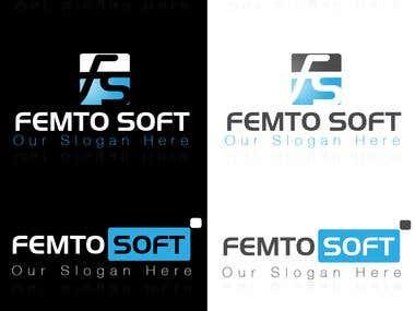 femtoSoft Logo