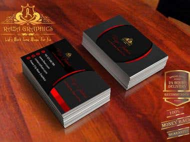 I Will Make Logo And Double Side Business Cards