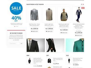 Blackthread.in - E-Commerce Websites using Magento 1.9.0.1v