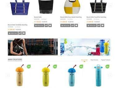 Shopnpik.com - Shopping cart website