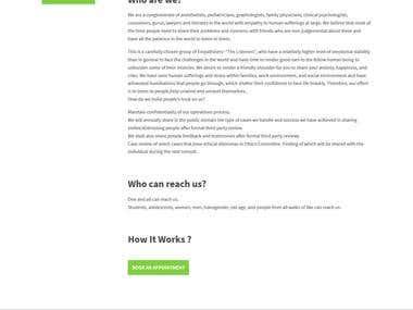 Allears.co.in - Wordpress website