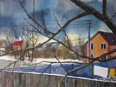 Landscapes of winter