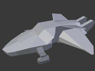 3D Model - Space Craft