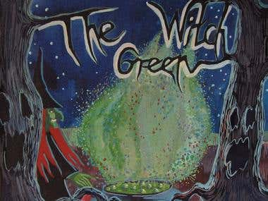 """The Green With"" Halloween children's book"