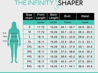 Sizing chart TIS