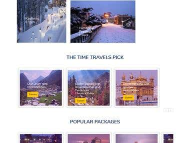 TheTimeTravels.com - Travel Website