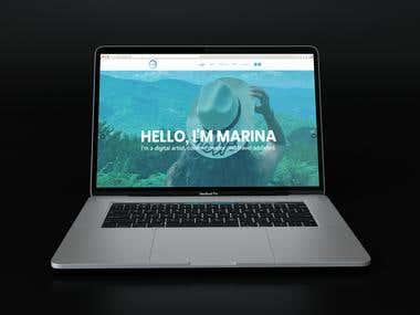 Website - Marina Baylun