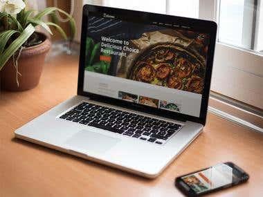 Website designing, Psd to HTML
