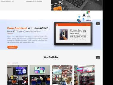 Wordpress interactive media