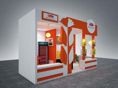 3D STALL RENDERING