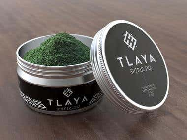 Spirulina Packaging Design