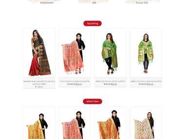 Silk Zone E-commerce Store